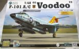 KH80115  1/48 McDonnell F-101A/C Voodoo